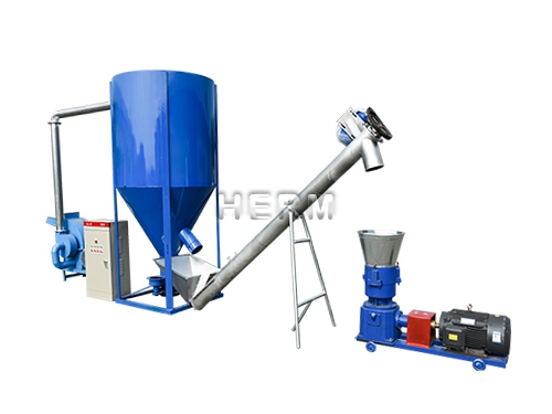 450-500kg/h Feed Pellet Plant for Poultry and Livestock