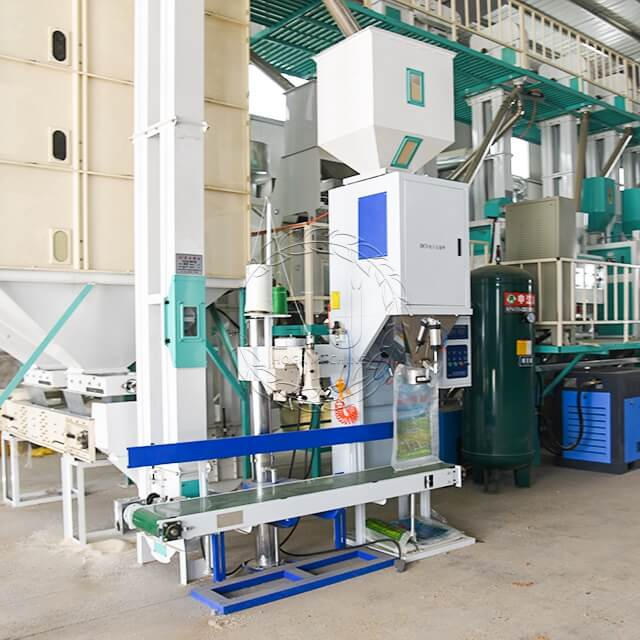 automatic feed packing machine