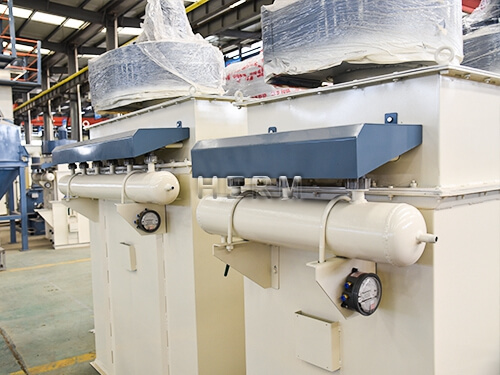 pulse dust collector, animal feed production line
