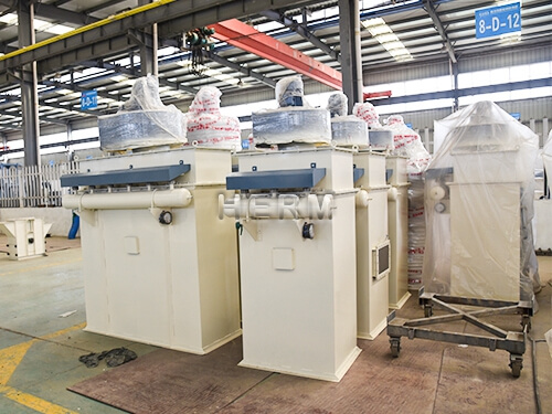 pulse dust removal machine, feed production  plant