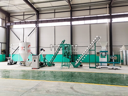 feed processing machine, feed production line