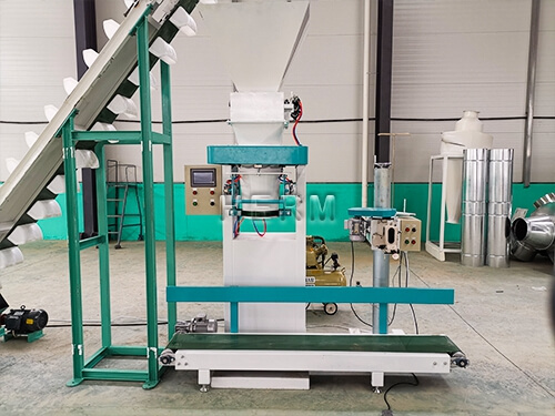 small feed pellet complete line