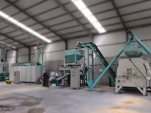 fish feed production line, feed pellet mill machine