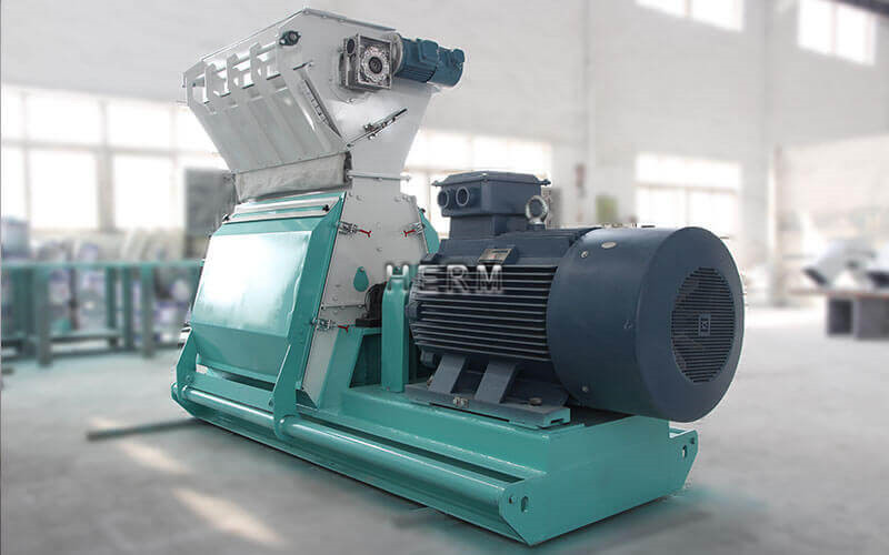 wide chamber feed hammer mill