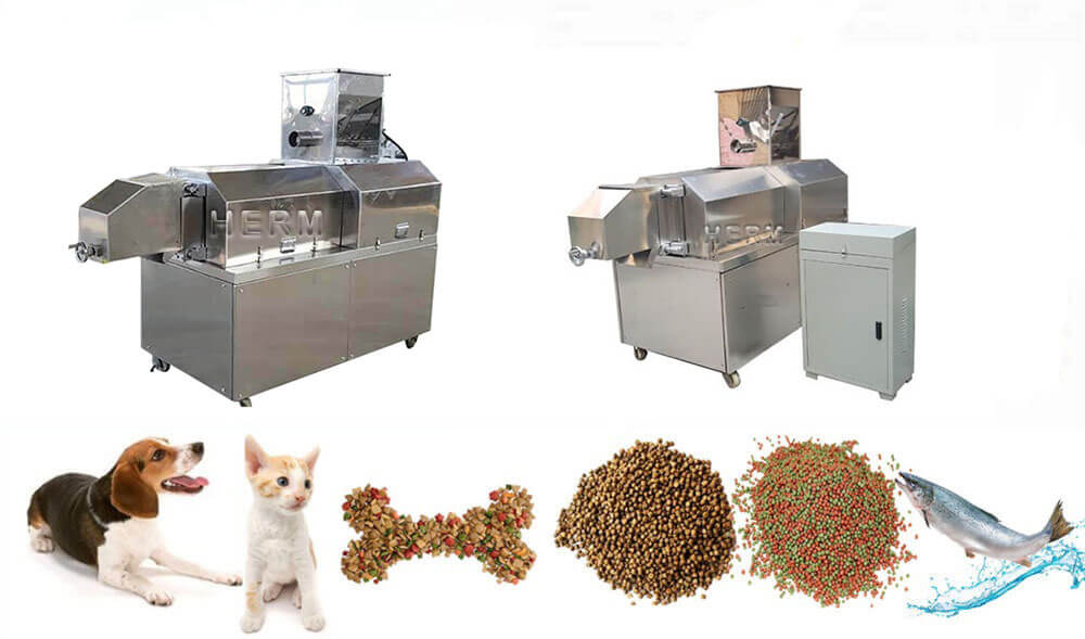 pet feed extruder machine price