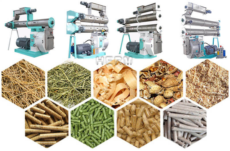 ring die animal feed pellet machine