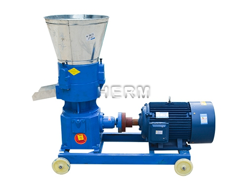 Small Flat Die Feed Pelleting Machine